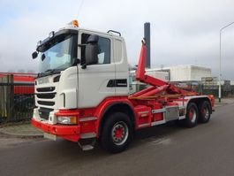 container truck Scania G 480 6X4 EURO 5 / HAAKSYSTEEM 25 TONS / MANUAL GEARBOX / KEURING 2022 !! 2013