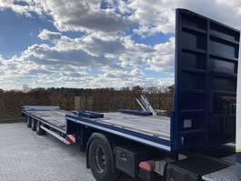 lowloader semi trailer Pacton S3-001 ALS NIEUWE.  SUPER MOOIE TRAILER 2008