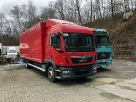 closed box truck MAN 12.250 TGM Euro6 1 Hd.Dfzg7,30Koffer 2014