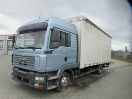 tilt truck MAN 12.240 TGL,Gardine,LBW,1xBett,Klima,Standheizung 2005