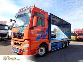 tilt truck MAN TGX 26.440 + Manual + Euro 5 + Lift roof 2012