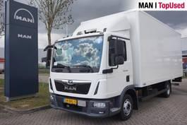 closed box truck MAN TGL 8.190 4X2 BL 2018