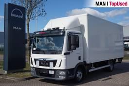 closed box truck MAN 8.180 4X2 BL 2017