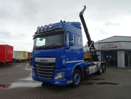 container truck DAF XF 106.460 FAN Liftachse/Euro 6/Intarder 2017