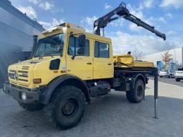 platform truck Unimog U4000 /Hiab 099/Radio Controll/Meiller/Doka/Euro5 2010