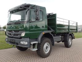 drop side truck Mercedes-Benz Atego 1317-A 4x4 - Euro 2 - Flatbed - RHD - NEW