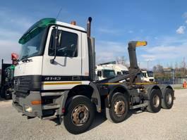 tipper truck > 7.5 t Mercedes-Benz Actros 4143 K 8x4 Euro3 2002