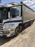 tilt truck Scania P 94  310 1999