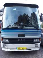 motorhome MAN 8.136 F 8.136F 1986