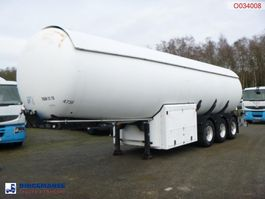Tankauflieger Guhur Gas tank steel 49 m3 + pump/counter 1997
