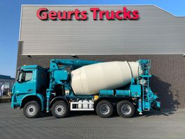 concrete mixer truck Mercedes-Benz Arocs 3742 8x4 SERMAC 4Z28 PUMI/CONCRETE MIXER/CONCRETE PUMP 2016