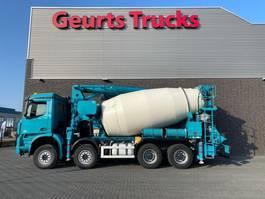 concrete mixer truck Mercedes-Benz Arocs 8x4 SERMAC 4Z28 PUMI/CONCRETE MIXER/CONCRETE PUMP 2016