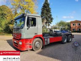 container truck Mercedes-Benz Actros 2641 6x4 E5 Multilift LHT 260.56 2007
