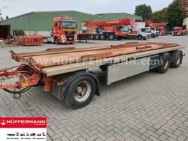 container chassis trailer Huffermann 3-achs Muldenanhänger / HMA 24.76 LT 2002