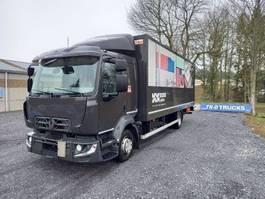 closed box truck Renault D12- euro 6- koffer en laadklep dhollandia comfort cabine 2014
