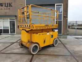 scissor lift wheeld Iteco 1215 werkhoogte 14mtr schaarhoogwerker 2010