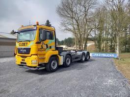 container truck MAN TGS 35.400 KETTINGSYSTEEM IN ZEER GOEDE STAAT