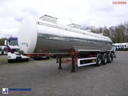 Tankauflieger BSL T Chemical tank inox 30 m3 / 1 comp 1997