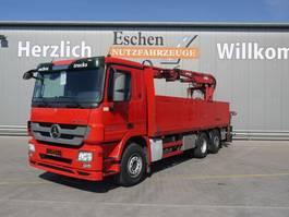 Pritschenwagen  Mercedes-Benz Actros 2536 3 Achs Pritsche, MKG HLK 171 a3, 2009