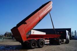 tipper semi trailer Trailor 2-assige oplegger 2000