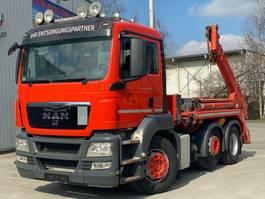 Container-LKW MAN TGS 26.400 6x2 Meiller Lift/Lenkachse Euro5 2013