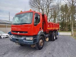tipper truck Renault Kerax 320 6x4 bi-benne boite manuelle 2002