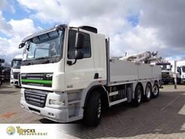 platform truck DAF CF 85.460 + Euro 5 + JKB Kennis Type 20.000 Crane + Pto 2013