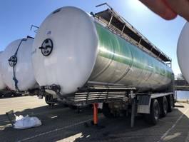 tank semi trailer semi trailer Magyar Magyar Tanker Semi-trailer 34000 ltr | Inox | Stainless | Foodstuff-Lebensmittel 2009