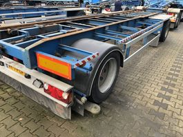 container chassis trailer Van Hool R-214 | Container | Abrollkipper | 1993