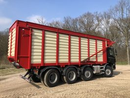 chassis cab truck Ginaf X 4446 TS 430 (renovated) | Harvest | KAWECO Silage system 2015 | 8x8 2006