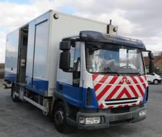 closed box truck Iveco EuroCargo ML ML120E22 2007