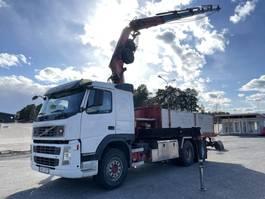 crane truck Volvo FM 440 6x4, Euro 5, Tipper + Fassi 23t/m, 2009, 2008
