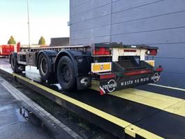 container chassis trailer GS Meppel Geschikt voor landbouw/ langzaam vervoer