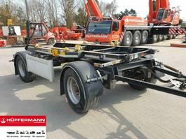 container chassis trailer Huffermann 2-achs Muldenanhänger / HMA 18.45 LT // 18.12 LT 2014