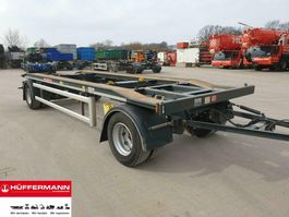 container chassis trailer Huffermann 2-achs Abrollanhänger // HAR 20.70 LS 2019