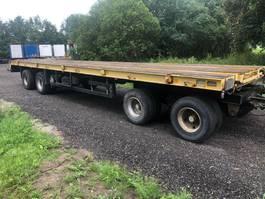 flatbed full trailer Goldhofer 4as bladvering