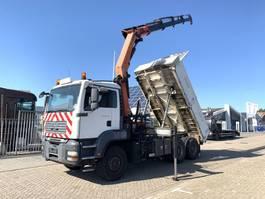 tipper truck > 7.5 t MAN TGA 33.400 6x4 Tipper/Crane Steel Springs 2007