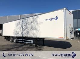 closed box semi trailer Fruehauf / 2 as SAF Disk / Liftas / Box / Laadklep 2000 kg / APK TUV 11-21 2014