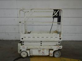 scissor lift wheeld Haulotte Optimum 8 2012