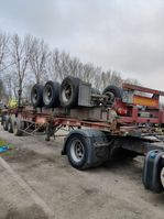 container chassis semi trailer Fruehauf containershassis 40 '' voet 1986