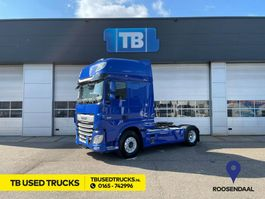 cab over engine DAF XF 480 FT Super Space Cab Blue Hydraulic Intarder Blue LED Head lights PTO NH4C 2018