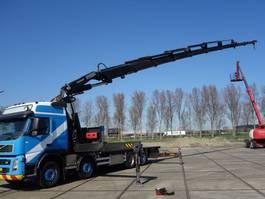 crane truck Volvo fm480 fassi 80 ton 2007