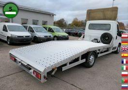 loading ramp - car transporter lcv Peugeot Boxer neu aufgebaut KLIMA SEILWINDE AUTO-Transpo 2015