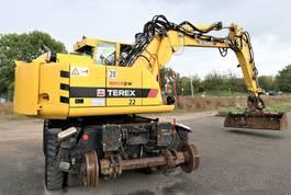 crawler excavator Atlas Terex 1604 ZW 4 Zweiwegebagger Rail 2009