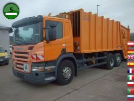 garbage truck Scania P280 B6X2 Haller M22X2C Schüttung Terberg TCA-DE 2009