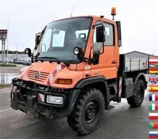 tipper truck Unimog U300 KLIMA AHK KOMUNALHYDRAULIK 2006