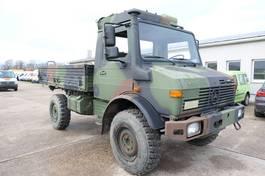 platform lcv Mercedes-Benz Unimog U 1300 L 435 4X4 2t KLIMA *-OLDTIMER-* AHK 1986