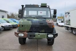 platform lcv Mercedes-Benz Unimog U 1300 L 435 4X4 2t KLIMA *-OLDTIMER-* AHK 1982