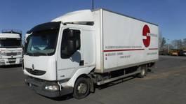 closed box truck Renault Midlum DXI 2005