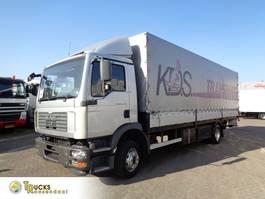 tilt truck MAN TGM 12.240 + Auto + Dhollandia Lift 2007